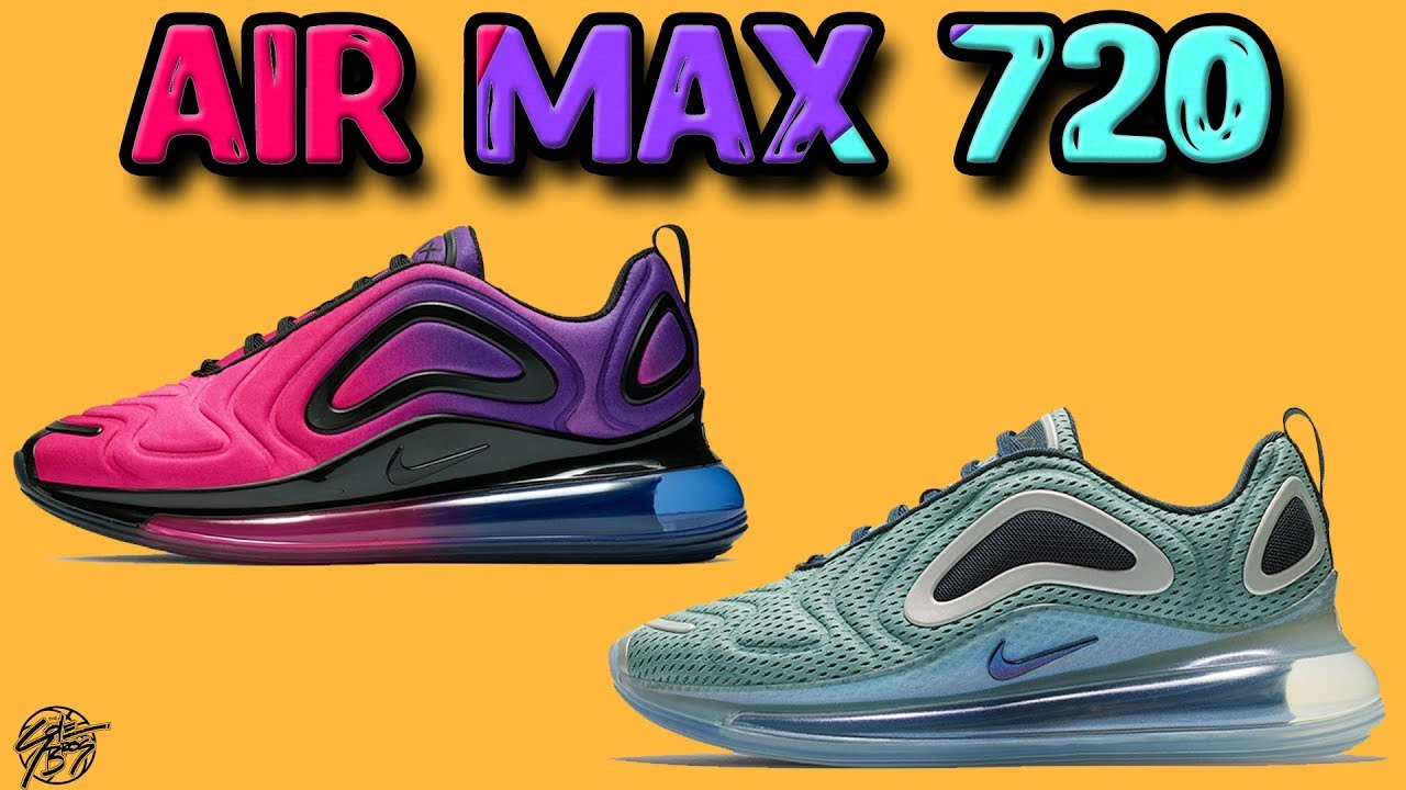 new style aece2 a4d27 Nike Air MAX 720 Official Pictures + Initial Thoughts!