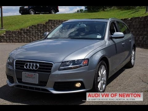 2010 audi a4 2 0t premium avant youtube. Black Bedroom Furniture Sets. Home Design Ideas