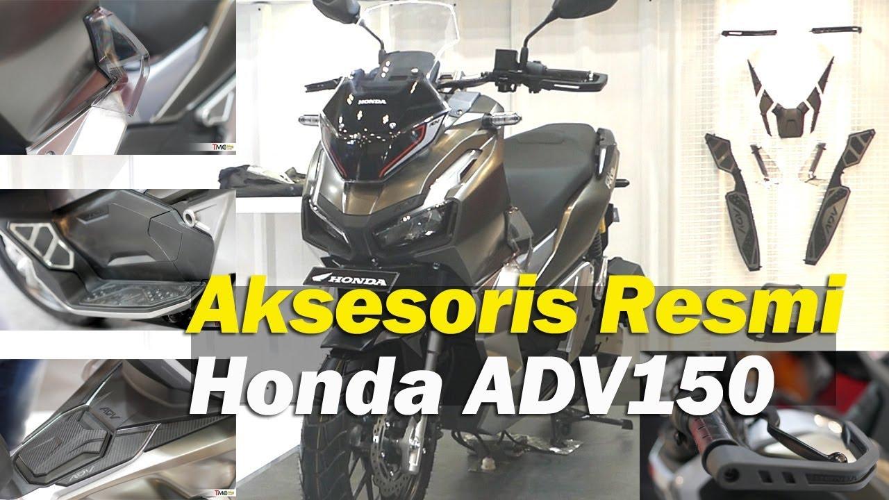 Bikin Beda Honda Adv150 Dengan Aksesoris Resmi Tmcblog 1203 Youtube