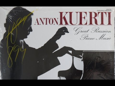 Anton Kuerti Great Russian Piano Music Tchaikowsky   Glazunov   Liadov  1982  Fanfare DFL 9018