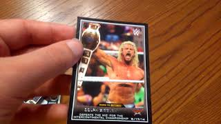 WWE trading card collection part 3