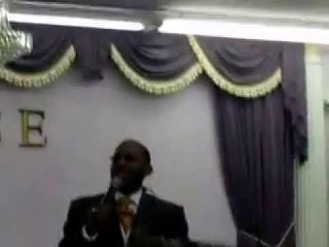 Pastor Keith Brooks preaching for Apostle Lewis Birthday Celebration 1