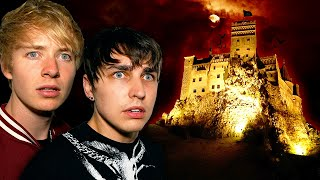 Our Horrifying Night at Haunted DRACULA'S CASTLE (Real Vampire)