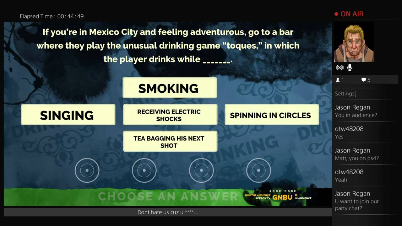 Jackbox fun with CBK - YouTube