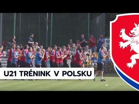 První trénink v Polsku