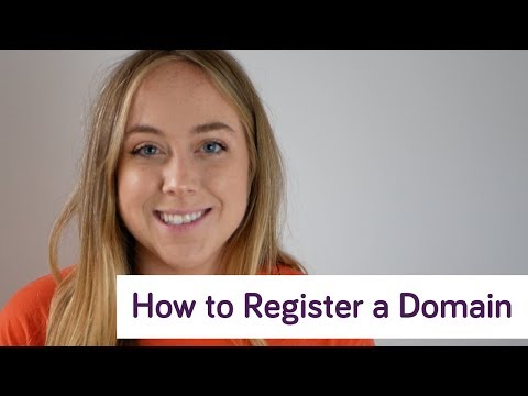 How to Register a Domain Name!