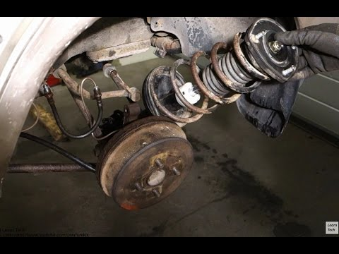 2015 Toyota Supra Price >> How to replace rear shock and spring assembly Toyota ...