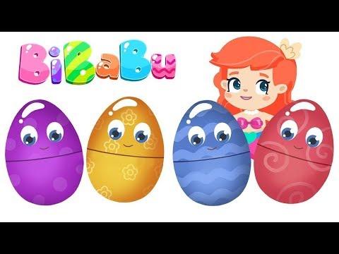 BiBaBu çizgi Film - Sürpriz Yumurtalar. Çocuk Videosu