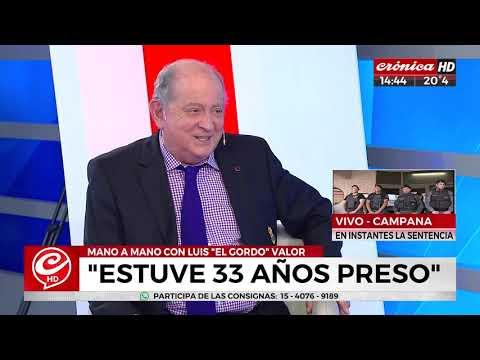 Luis 'El Gordo' Valor: 'Tengo la suerte de contar mi historia'