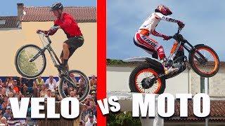 JE DÉFIE LE CHAMPION DU MONDE MOTO TRIAL (VTT vs MOTO)