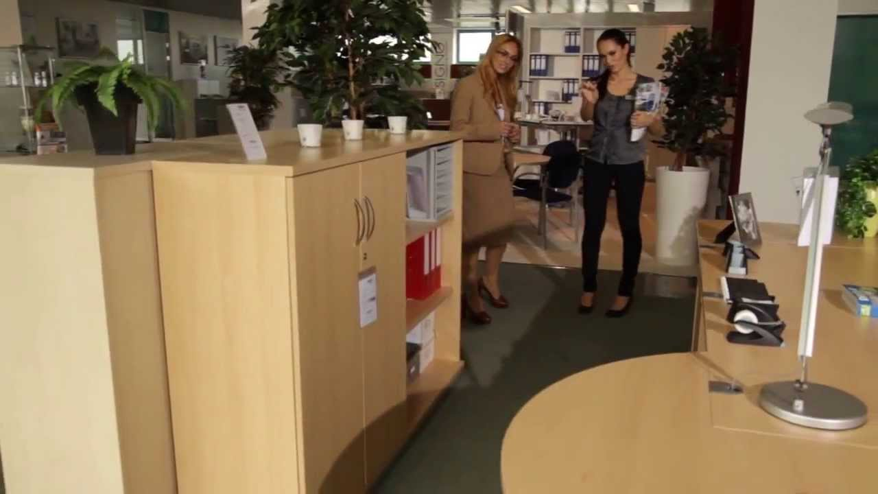 Büromöbel-Ausstellung in Wuppertal - DELTA-V GmbH - YouTube