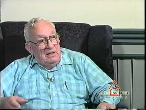 Day World War II veteran U.S. Navy Natick Veterans Oral History Project YouTube sharing