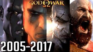 God of War AĻL INTROS 2005-2017 (PS4, PS3, PS2, PSP)