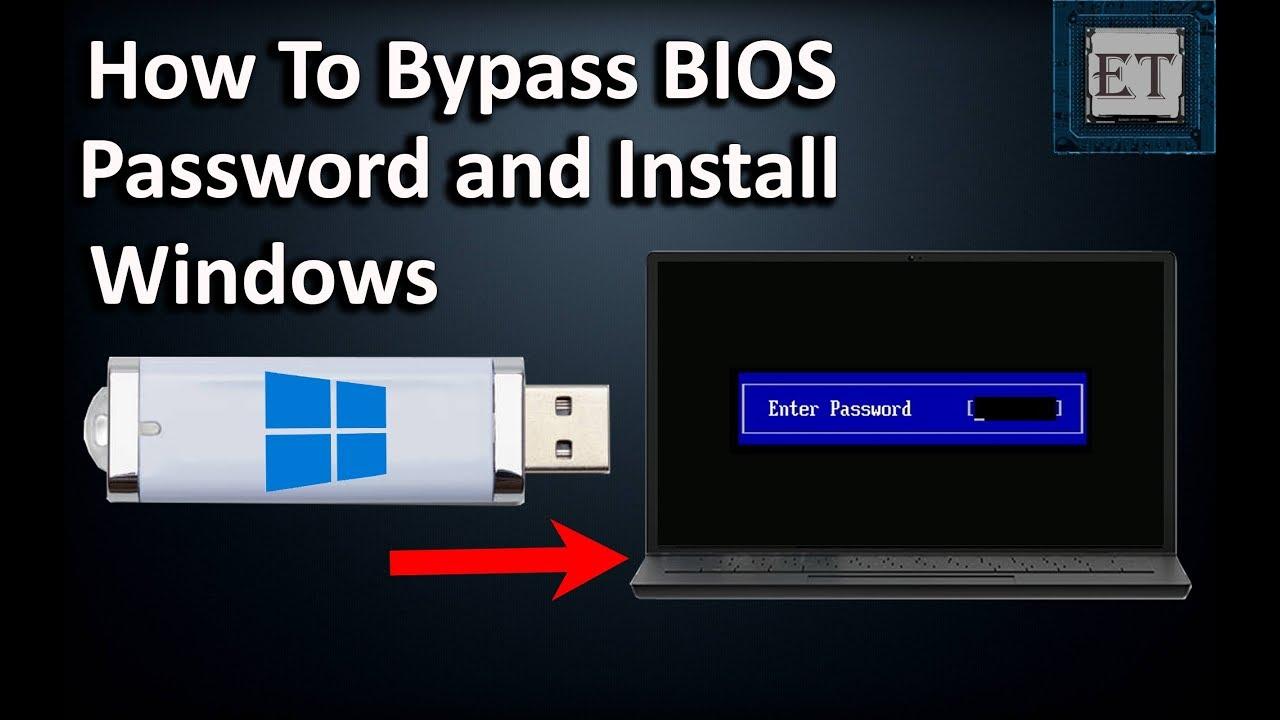 bypass laptop bios password