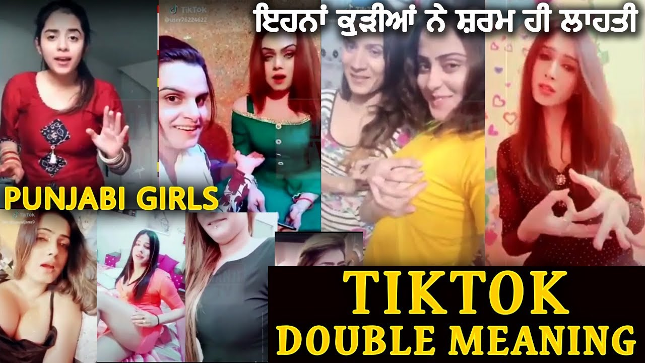 Pakistani Stage Drama : Double Meaning Punjabi Tiktok | Punjabi Girls Non Veg | Tiktok Stars