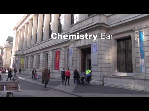 Chemistry Bar created by Arnout Visser, Science Museum London