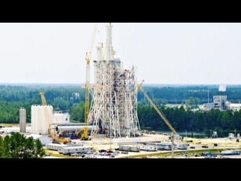 NASA Waste: $350M Rocket Engine Test Site Unused