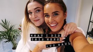 WHAT I DID THIS WEEK + URBAN OUTFITTERS HAUL | Hello October AD