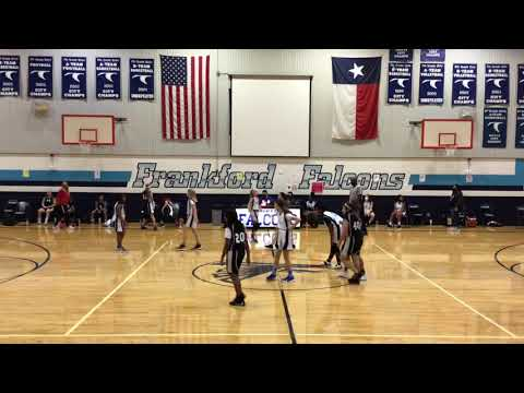 Plano ISD- Hendrick Middle School Vs Frankford - 7th Grade A Team - 2nd Quarter