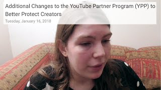 Why I Can't Make Money on YouTube - YouTube Partner Program Changes and Small YouTuber Thoughts