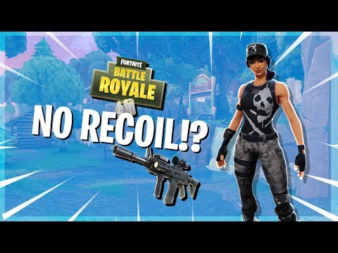 Quick Tips: How to get 0 recoil in Fortnite! - YouTube