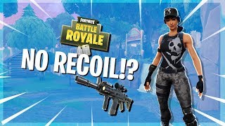 Quick Tips: How to get 0 recoil in Fortnite!