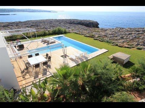 Dise o y lujo en la playa de menorca doovi - Casa menorca barcelona ...
