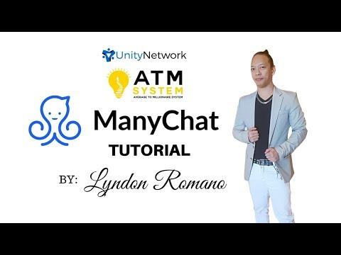 MANYCHAT TUTORIAL By LYNDON ROMANO