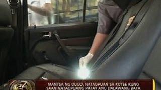 24 Oras: Mantsa ng dugo, natagpuan sa kotse kung saan natagpuang patay ang dalawang bata