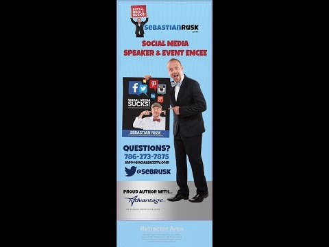 Social Media Speaker Sebastian Rusk : Social Media and PR (P