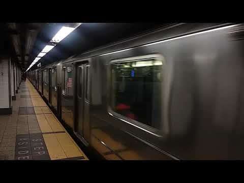 R62A (6) Express departing Grand Central-42 Street