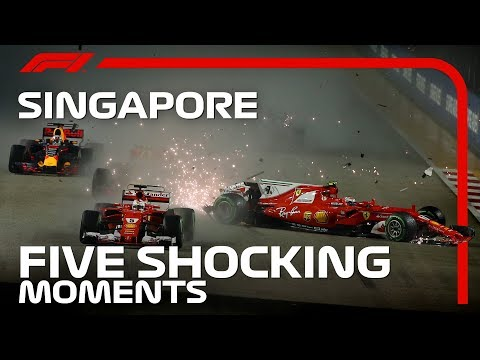 5 Shocking Moments From The Singapore Grand Prix