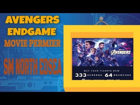 Avengers Endgame Movie Premiere Sm North Life In the Philippines as I see it