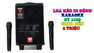 Loa kẹo kéo mini SY 1108   loa karaoke bluetooth chỉ hơn 1 triệu hay nhất Nhật Tây Audio Store ✅