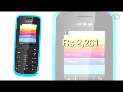 Nokia 109 launched, comes with free EA games, social networking apps and a web browser