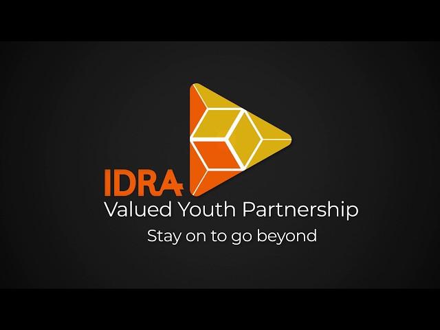 IDRA VYP Ending Logo on Black
