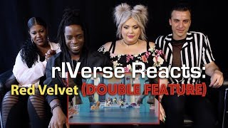 rIVerse Reacts Red Velvet (DOUBLE FEATURE)