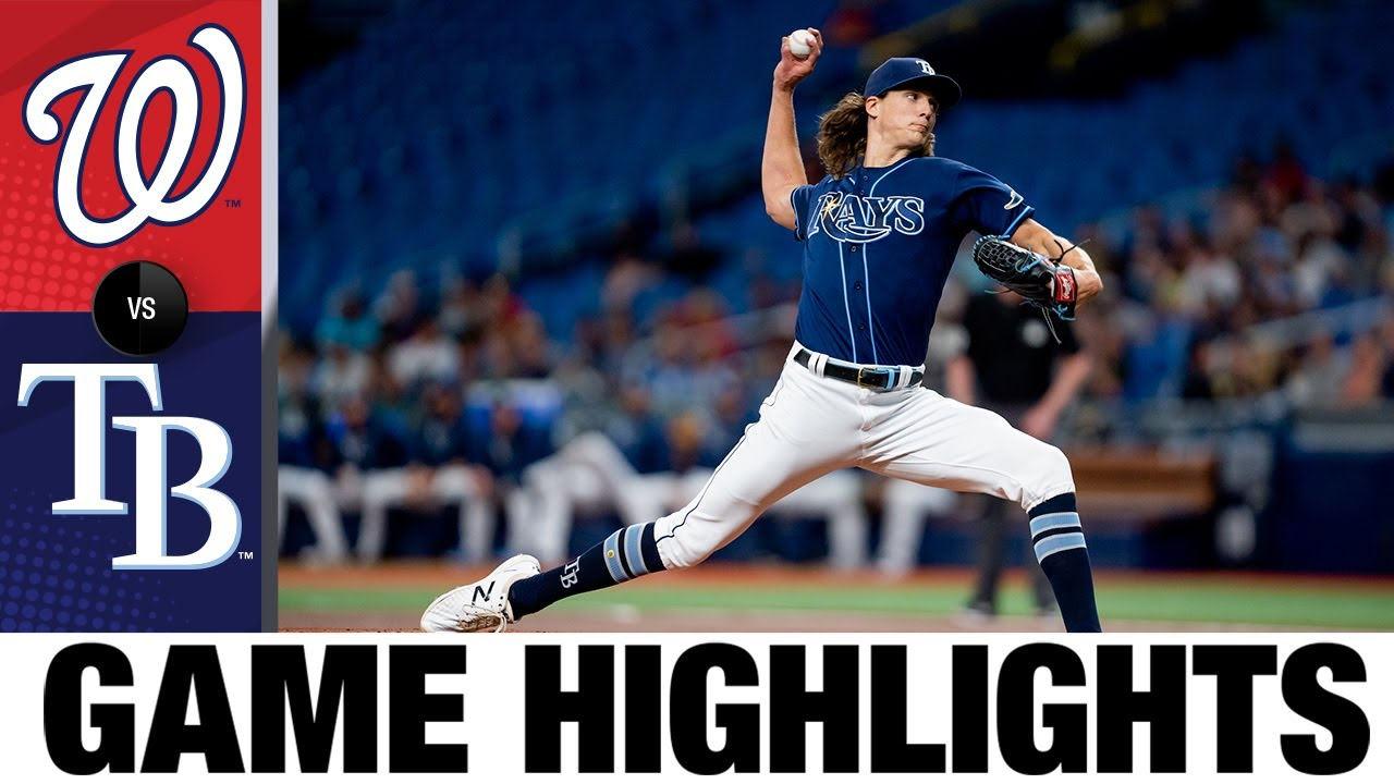 Download Nationals vs. Rays Game Highlights (6/8/21)   MLB Highlights