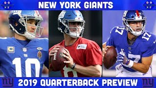 New York Giants 2019 Quarterback Preview | NY Giants Preview 2019 | NFL
