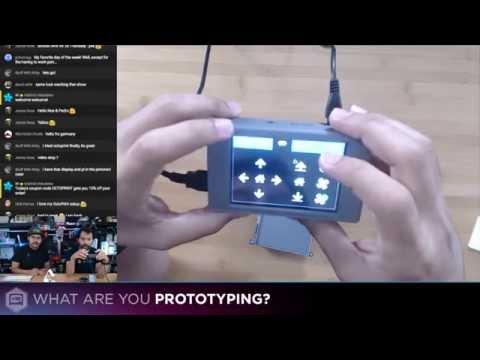 3D Hangouts - OctoPrint, Drones and Pi
