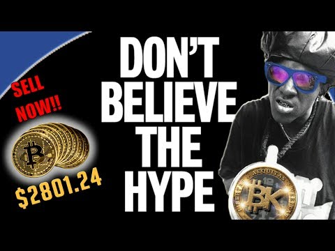 😱💰BITCOIN BUBBLE! SELL NOW! Bitcoin Price 2801 USD Crypto Currency Chart Analysis FREE BITCOIN BTC