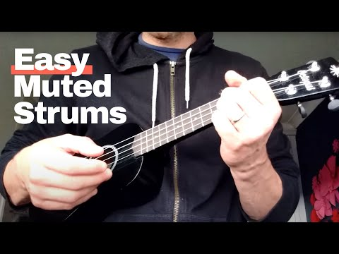 BEST WAY TO PLAY MUTED STRUMS | EASY FOR BEGINNERS