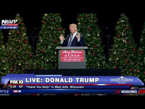 FULL: Donald Trump Thank You Rally in West Allis, Wisconsin