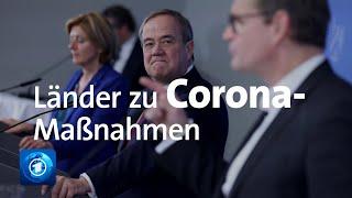 Corona-Schutzmaßnahmen: Länder fordern weiter bundesweiten Rahmen