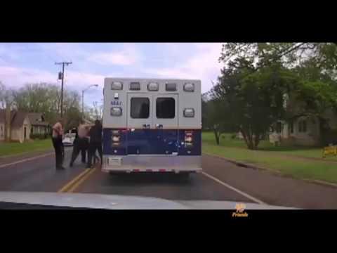 Police Arrest Suspect Who Took High-Speed Joy Ride in Stolen Ambulance