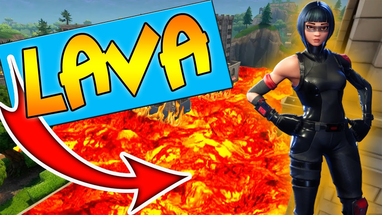 Der boden ist lava challenge in tilted towers fortnite for Boden ist lava
