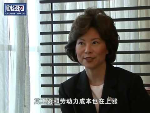 财经峰会:Interview with Elaine L. Chao, Secretary of Labor 赵小兰