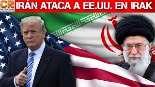 IRÁN ATACA A BASES DE EE.UU.  EN IRAK  - SE ESTRELLA AVIÓN EN TEHERAN   - CR NOTICIAS (REPETICIÓN)