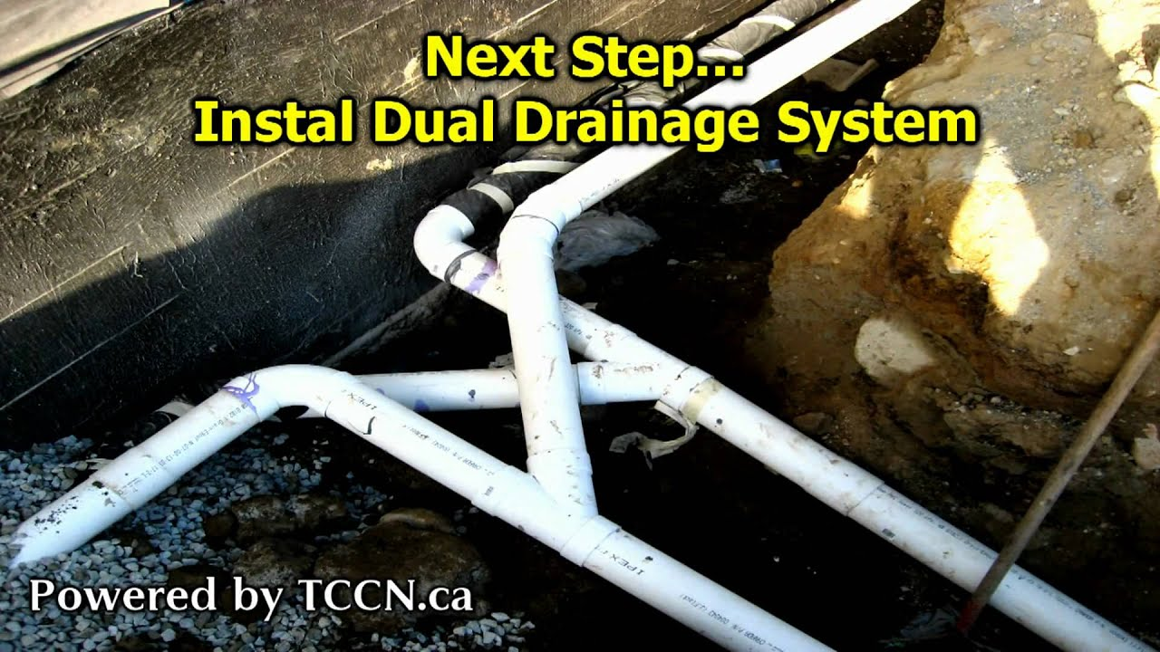 French Drain Diagram Guide And Troubleshooting Of Wiring Design Vancouver Drainage Company Installing Perimeter Basement