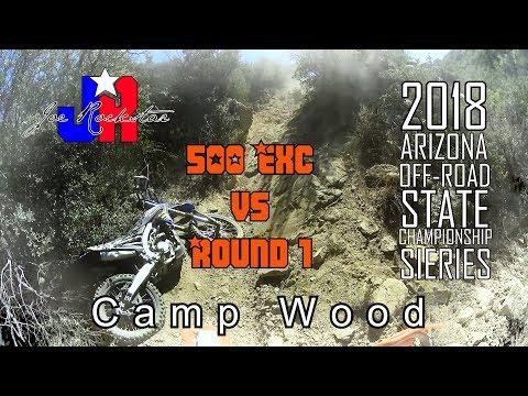 KTM 500 Exc Vs Camp Wood II 2018 Arizona Off Road State Championship